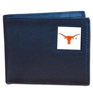NCAA Texas Longhorns Executive Leather Bi-fold Wallet