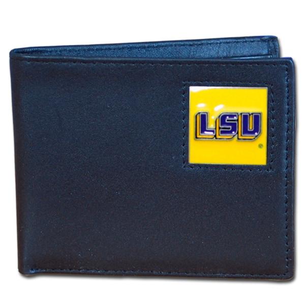 NCAA LSU Tigers Executive Leather Bi-fold Wallet