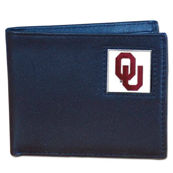 NCAA Oklahoma Sooners Executive Leather Bi-fold Wallet