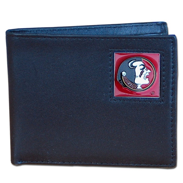 NCAA Florida State Seminoles Leather Bi-fold Wallet