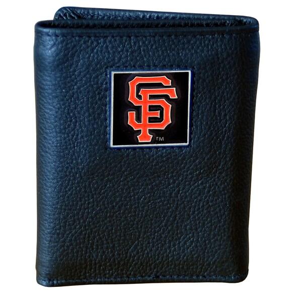 MLB San Francisco Giants Leather Tri-fold Wallet