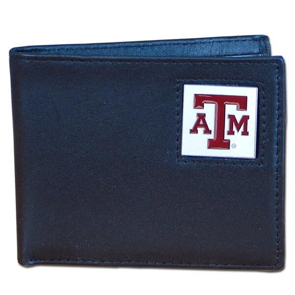 NCAA Texas AM Aggies Executive Leather Bi-fold Wallet