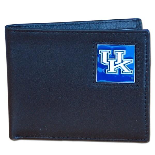 NCAA Kentucky Wildcats Executive Leather Bi-fold Wallet