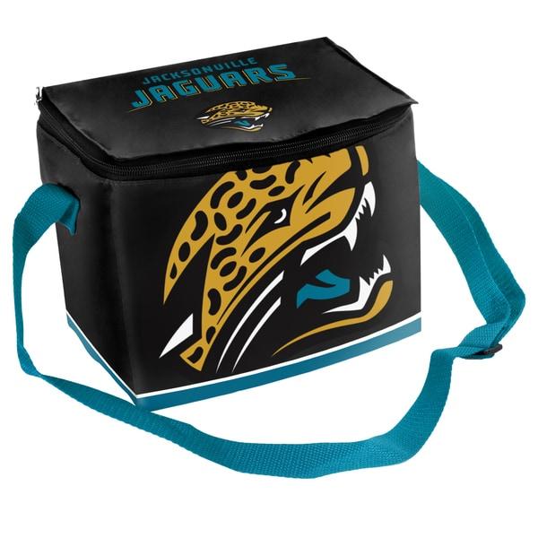 Forever Collectibles NFL Jacksonville Jaguars Full Zip Lunch Cooler