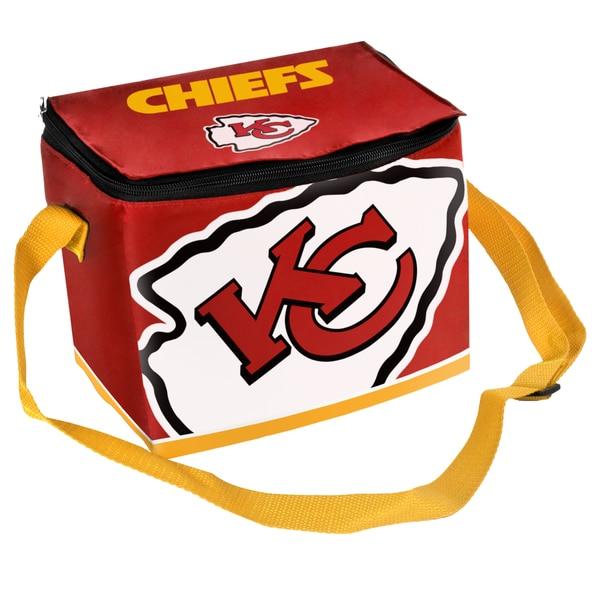 NFL Kansas City Chiefs Full Zip Lunch Cooler