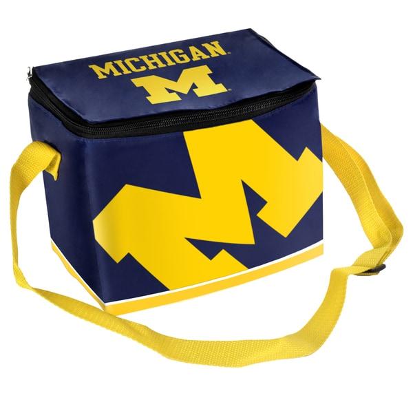NCAA Michigan Wolverines Full Zip Lunch Cooler