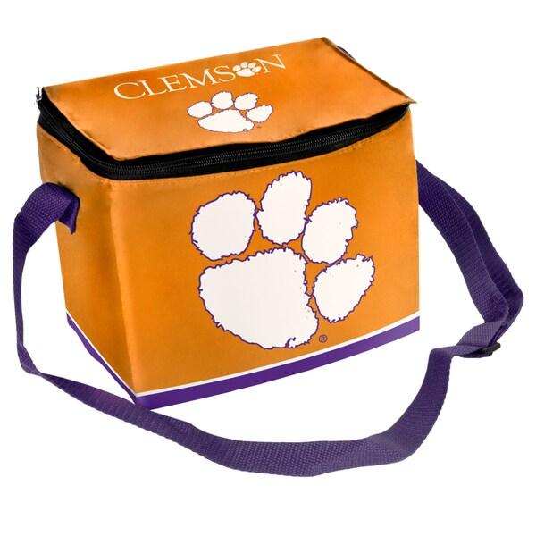 NCAA Clemson Tigers Full Zip Lunch Cooler