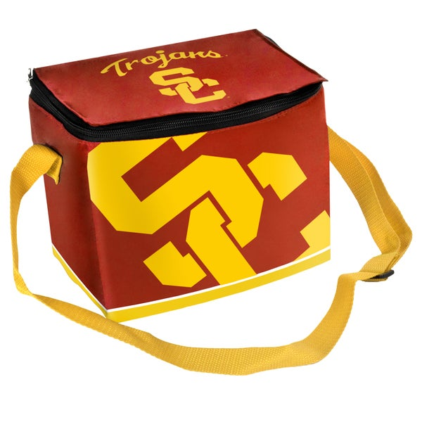 Forever Collectibles NCAA USC Trojans Full Zip Lunch Cooler