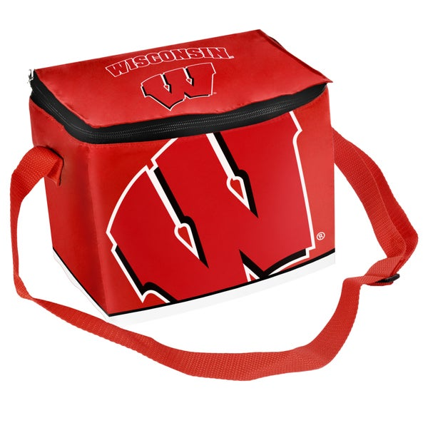 Forever Collectibles NCAA Wisconsin Badgers Full Zip Lunch Cooler