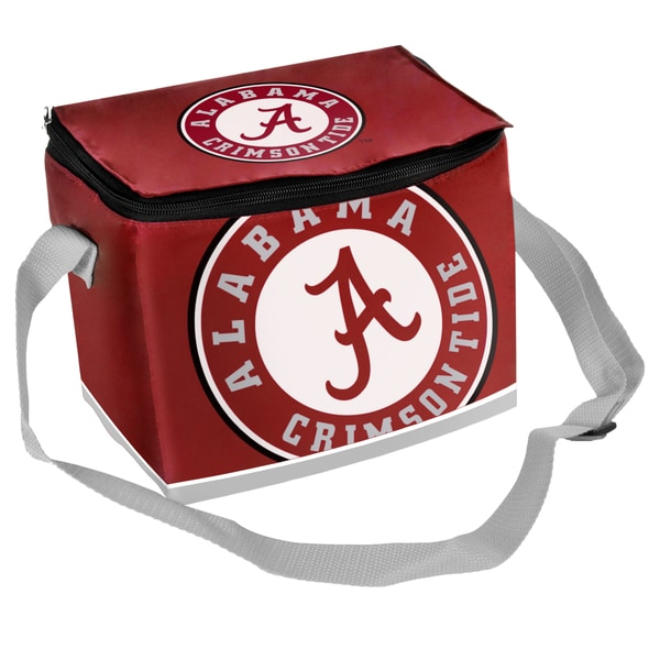 Forever Collectibles NCAA Alabama Crimson Tide Full Zip Lunch Cooler