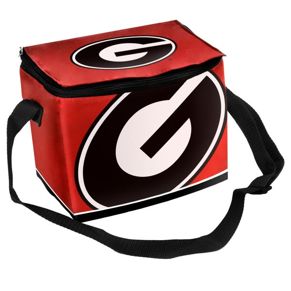 NCAA Georgia Bulldogs Full Zip Lunch Cooler
