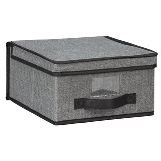 Kennedy Home Collection Grey Medium Storage Box