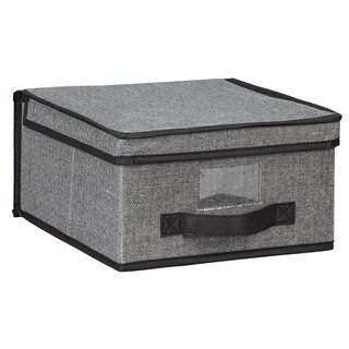 Kennedy Home Collection Grey Medium Storage Box