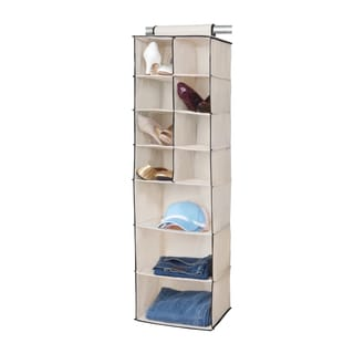 8 Shoe Pocket and 3 Shelf Hanging Organizer