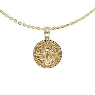 14k San Benito Medallion