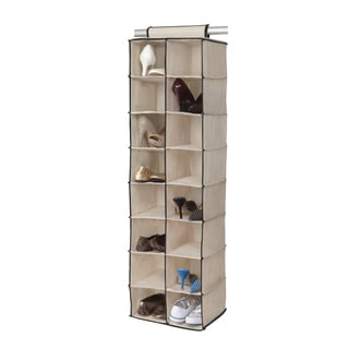 16-compartment Hanging Shoe Organizer