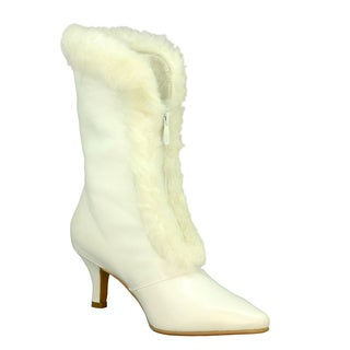 DimeCity Women's 'Alpine' Fur Trim Boots