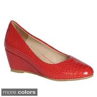 Ann Creek Women's 'Venable' Wedge Pump Shoes