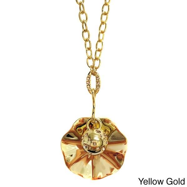 Treasured Pearl and Seashell Pendant Necklace