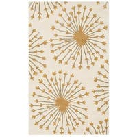 Safavieh Handmade Bella Beige/ Gold Wool Rug - 3' x 5'