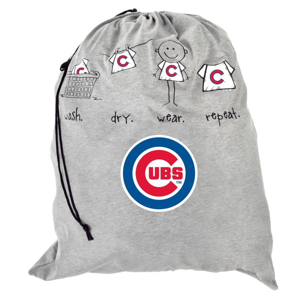 Forever Collectibles MLB Chicago Cubs Drawstring Laundry Bag
