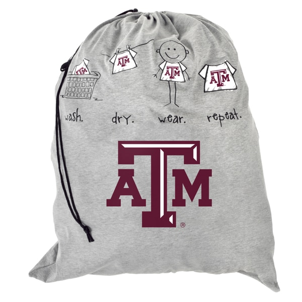 NCAA Texas AM Aggies Drawstring Laundry Bag