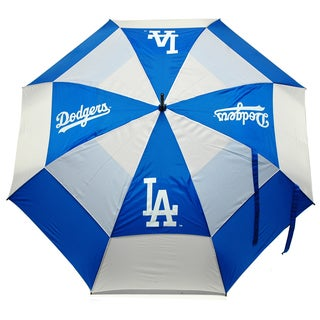 MLB Los Angeles Dodgers 62-inch Double Canopy Golf Umbrella