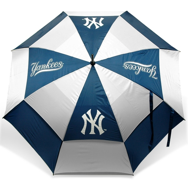 MLB New York Yankees 62-inch Double Canopy Golf Umbrella