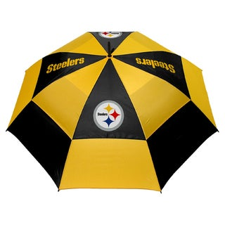 NFL Pittsburgh Steelers 62-inch Double Canopy Golf Umbrella