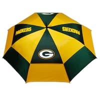 NFL Green Bay Packers 62-inch Double Canopy Golf Umbrella