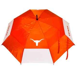 NCAA Texas Longhorns 62-inch Double Canopy Golf Umbrella