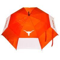 NCAA Texas Longhorns 62-inch Double Canopy Golf Umbrella