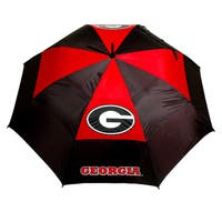 NCAA Georgia Bulldogs 62-inch Double Canopy Golf Umbrella