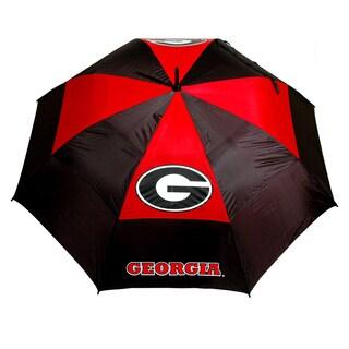 NCAA Georgia Bulldogs 62-inch Double Canopy Golf Umbrella