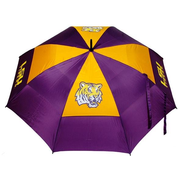 NCAA LSU Tigers 62-inch Double Canopy Golf Umbrella