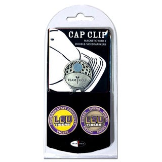 NCAA LSU Tigers Magnetic Cap Clip and Marker Set