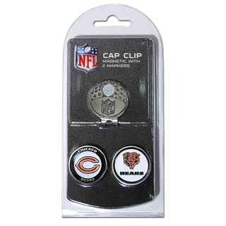 NFL Chicago Bears Magnetic Cap Clip and Marker Set