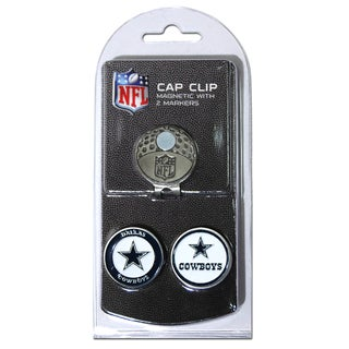 NFL Dallas Cowboys Magnetic Cap Clip and Marker Set