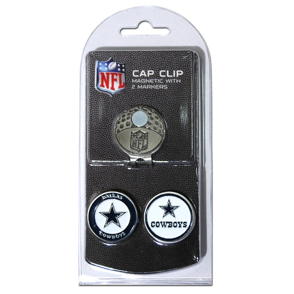 NFL Dallas Cowboys Magnetic Cap Clip and Marker Set
