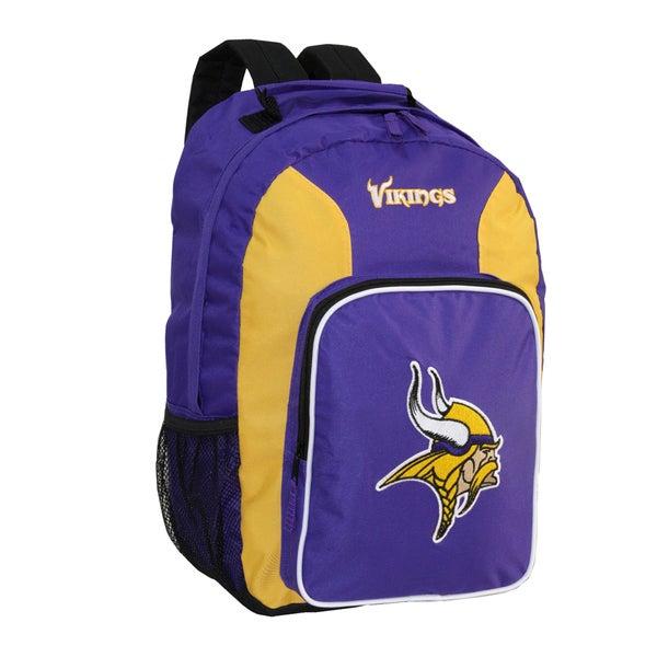 NFL Minnesota Vikings Team Logo Backpack