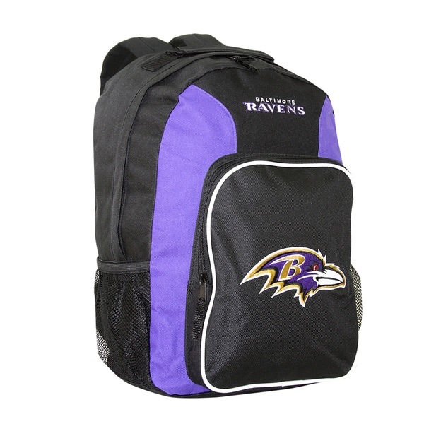 NFL Baltimore Ravens Team Logo Backpack