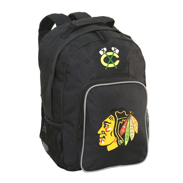 NHL Chicago Blackhawks Team Logo Backpack