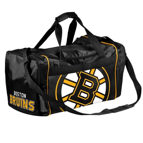 NHL Boston Bruins 21-inch Core Duffle Bag