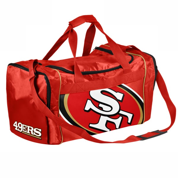 NFL San Francisco 49ers 21-inch Core Duffle Bag