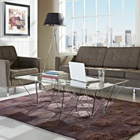 Prism Rectangular Glass Coffee Table