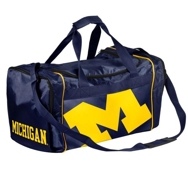NCAA Michigan Wolverines 21-inch Core Duffle Bag