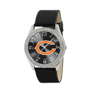 NFL Chicago Bears Women's Glitz Patent Leather Watch