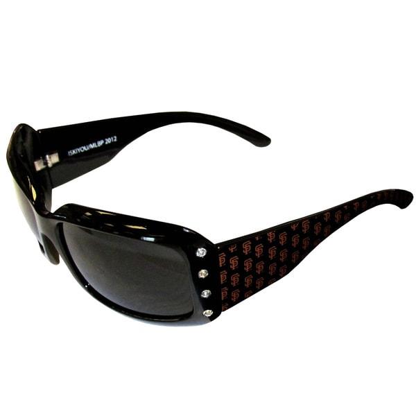 MLB San Francisco Giants Women's Designer Bling Sunglasses