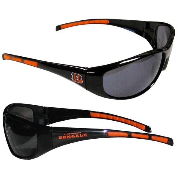 NFL Cincinnati Bengals Wrap Sunglasses