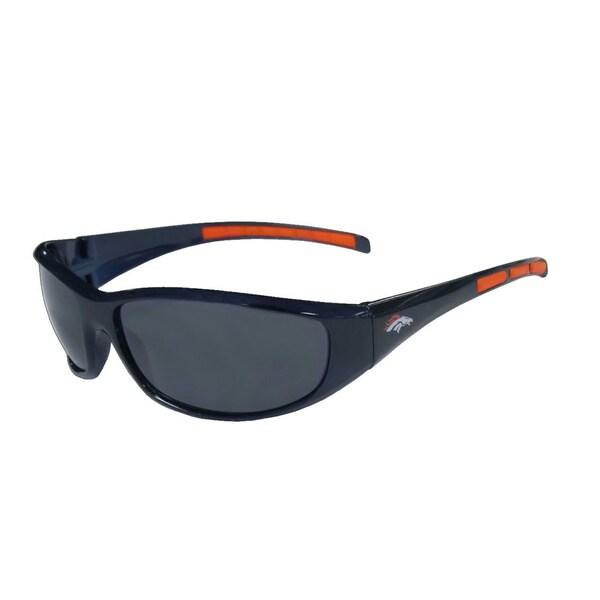 NFL Denver Broncos Wrap Sunglasses